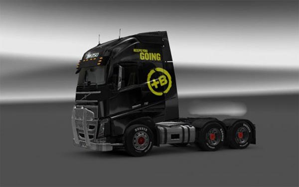 Volvo FH Battery Energy Drink Skin
