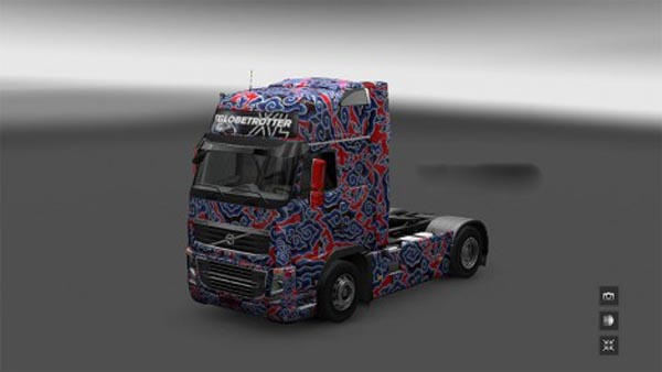 Volvo FH16 2009 Batik Paint Jobs