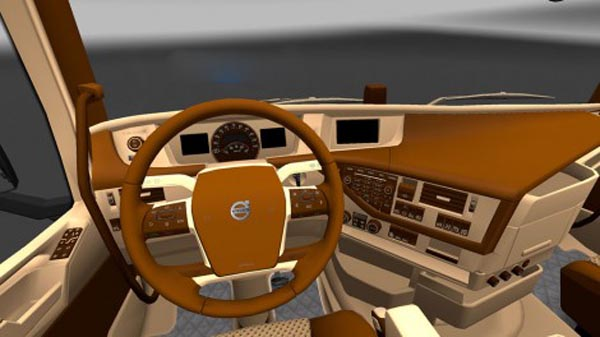 Volvo FH16 Deluxe Interior