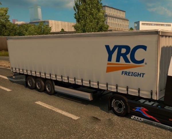 YRC Freight Trailer