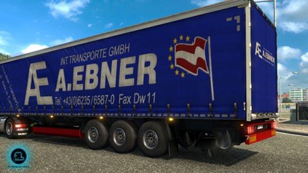 A. Ebner Transporte Trailer