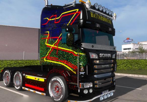 BASTARDONERO for Scania topline