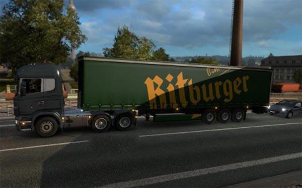 Bitburger Trailer