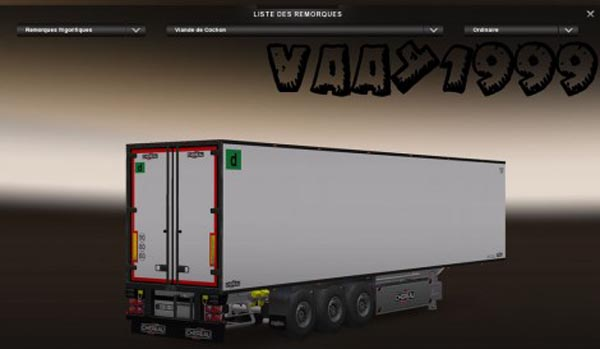 Chereau Tuned Trailer
