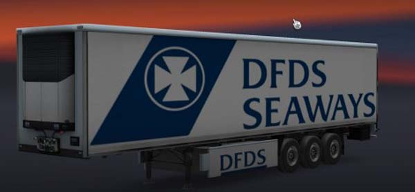 DFDS Seaways Trailer Skin