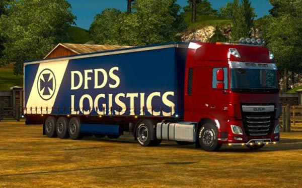 DFDS Trailer