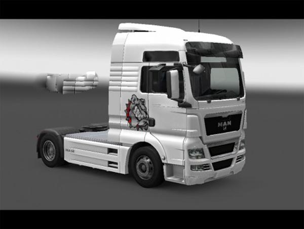 Dog skin for MAN TGX