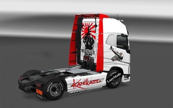 Kamikaze Skin for Volvo 2012
