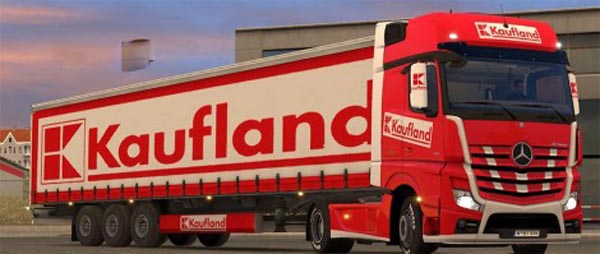 Kaufland pack for Mercedes MP4
