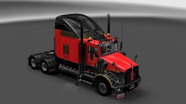 Kenworth T800 Tackaberry Skin