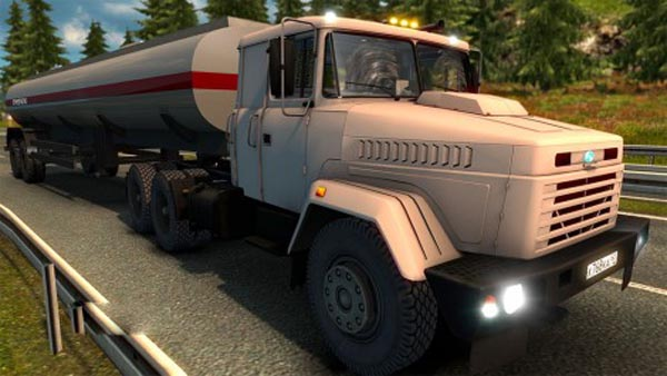 KrAZ 206 update