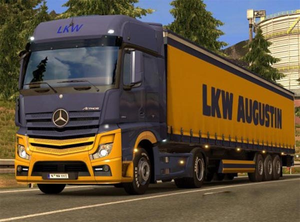 LKW Augustin pack for Mercedes MP4