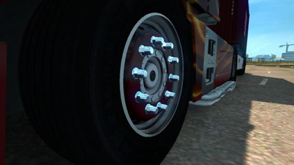 MAN TGX E6 Wheels