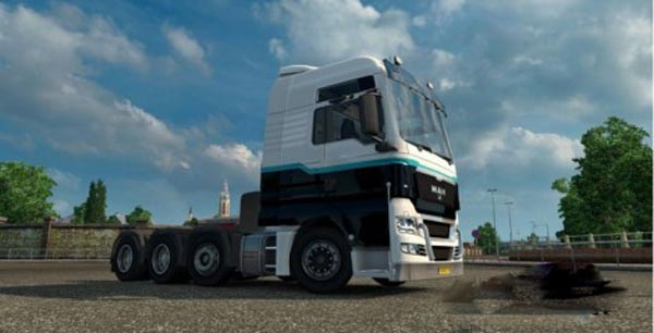 MAN TGX New 8×4 Chassis