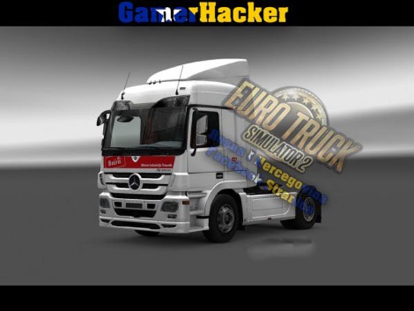 Mercedes Actros MP3 Bajra Skin
