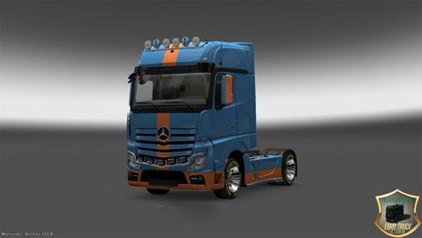 Mercedes Actros MP4 2014 DS1 Skin