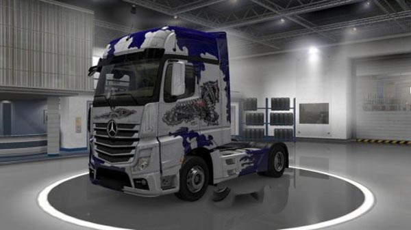 Mercedes Actros MP4 Biomechaniks Skin