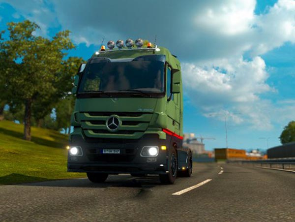 Mercedes Actros Trust Edition Skin