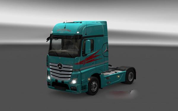 Mercedes MP4 Szatmari Transport Skin