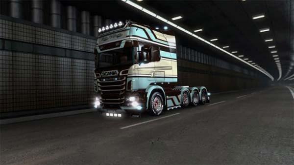 Moka California for Scania RJL