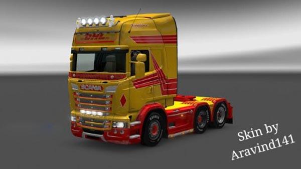Scania DHL Skins