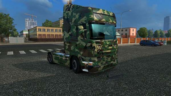 Scania GTM Army Skin