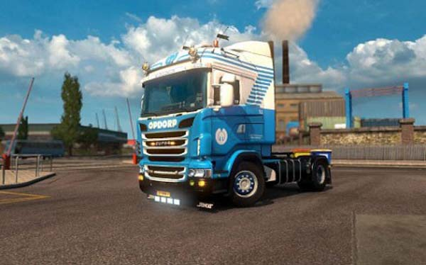 Scania Opdorp Transport Skin