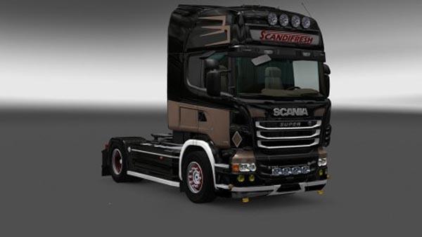 Scania R and Streamline Skin