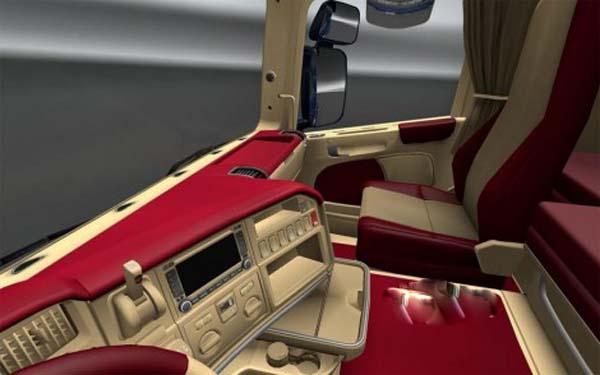 Scania R interior