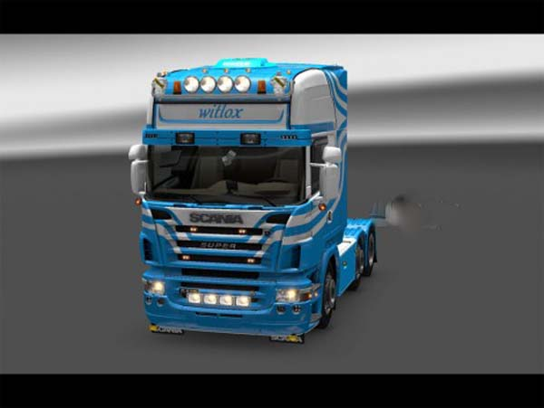 Scania R2008 Witlox skin