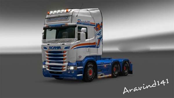 Scania RJL Armstrong Transport Skin