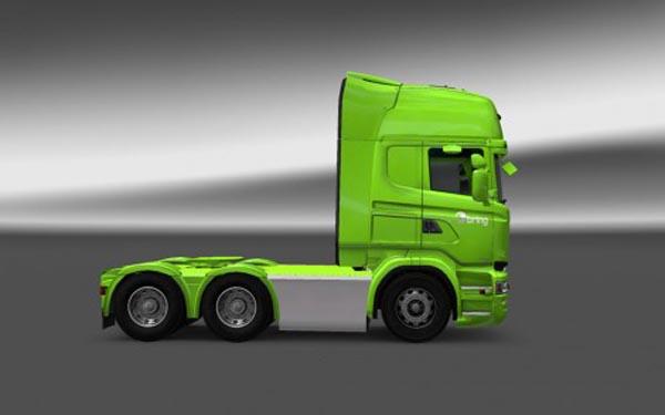 Scania RJL Bring Logistics Skin