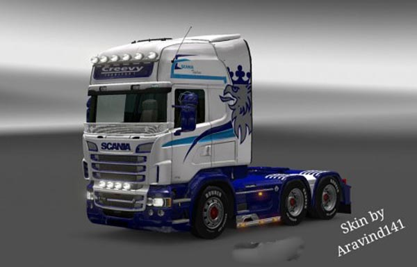 Scania RJL Creevy Transport Skin