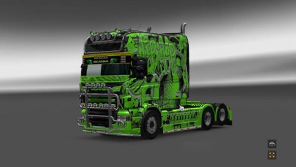 Scania RJL EXC Longline Hip Hop Skin