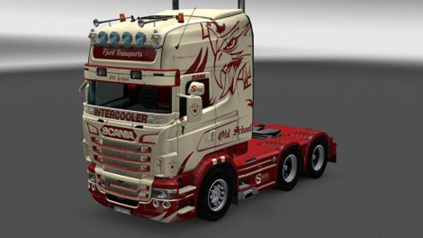 Scania RJL Fjord Transport Skin