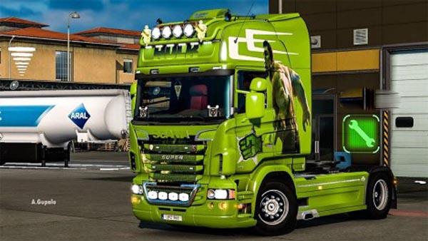 Scania RJL Hulk