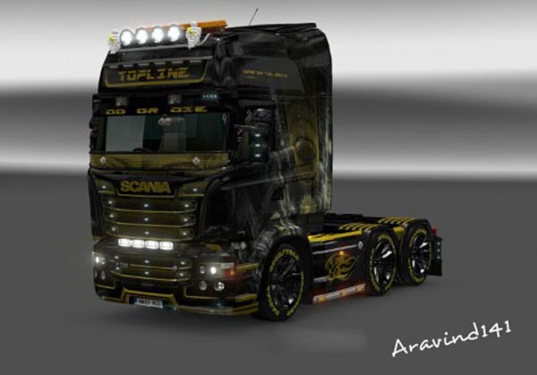 Scania RJL King of the Road Skin