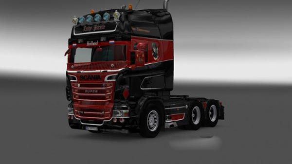 Scania RJL Lady Pirate Skin