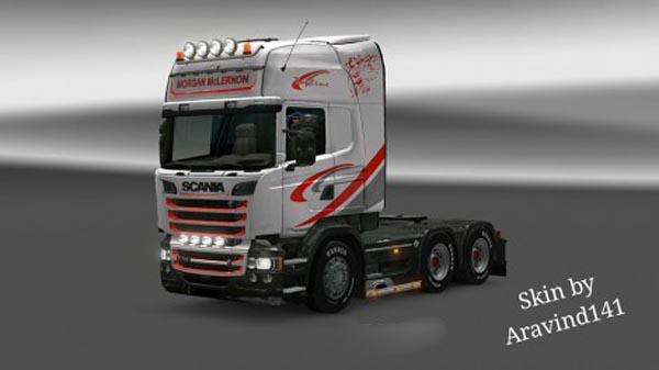 Scania RJL Morgan McLernon Skin