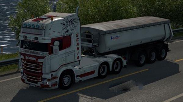 Scania RJL Nordic Logistic Skin