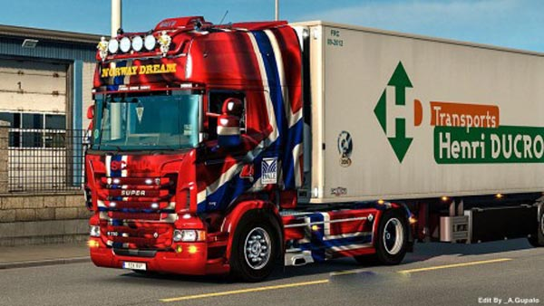Scania RJL Norway Dream Skin