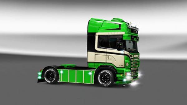 Scania RJL S.T.M Skin
