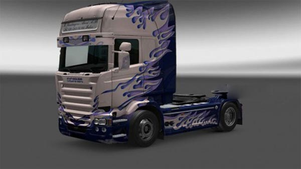 Scania RJL TOPLINE R.Thurhagens-Akexi-A.B Skin