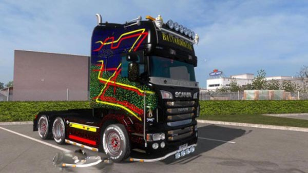 Scania RJL Topline Bastadonero Skin