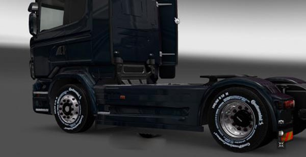 Scania Rims with Continental Tires