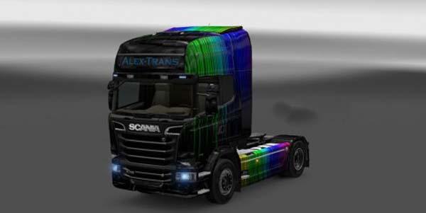 Scania Streamline Alex Trans Skin