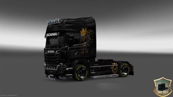Scania Streamline Golden Eagle Skin