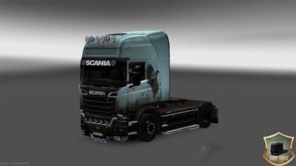Scania Streamline Hedgehog in the Fog Skin