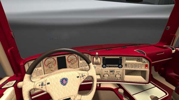 Scania T OFR Interior