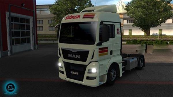 Selman Transporten MAN TGX Euro 6 skin
